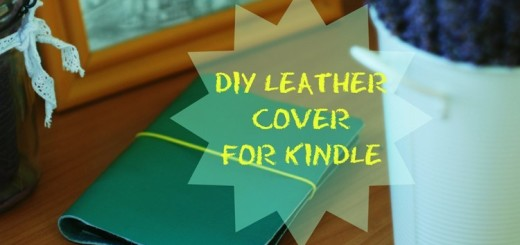 Leather Cover for Kindle Tutorial