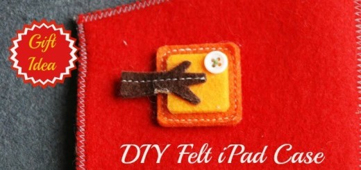 DIY Felt iPad Case