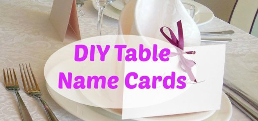 DIY Table Name Cards_title